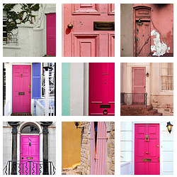 So Could You Paint Your Front Door Pink? Or What About Your Garage Doors??  I Was Planning On Painting My Front Door Over The Weekend (although Not Pink)  ...