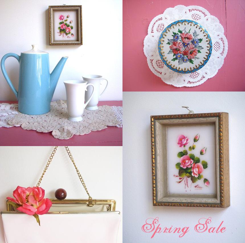 Spring sale -etsy