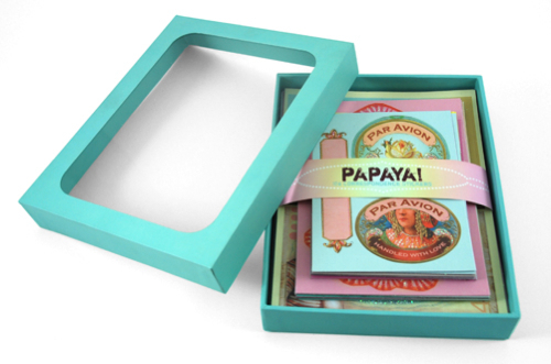 Papaya Art Sticker Set