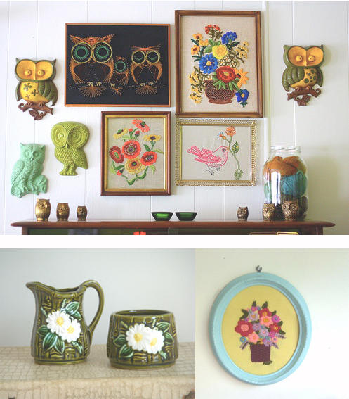 things i love thursday gathering vintage home decor gathering spriggs - Vintage Home Decor