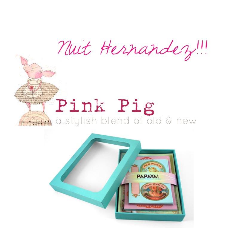 Pink pig winner