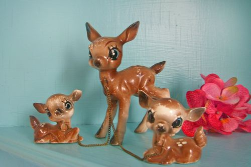 Little deer trio-card