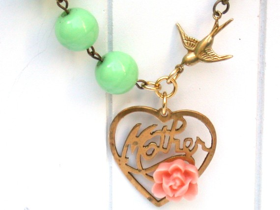 Perfect Gift for Mom or Grandma - Welcome New Baby Charm Necklace
