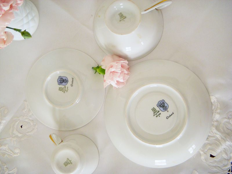 Cups:saucers